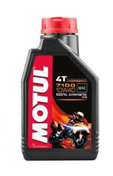 Масло Motul 7100 4Т МА2 10W40 моторное, синтетическое (1л)