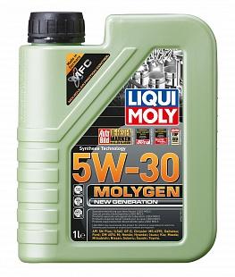 Масло Liqui Moly 5W30 Molygen New Generation  моторное, синтетическое (1л) 9041
