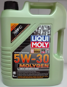Масло Liqui Moly 5W30 Molygen New Generation моторное, синтетическое (5л) 39029