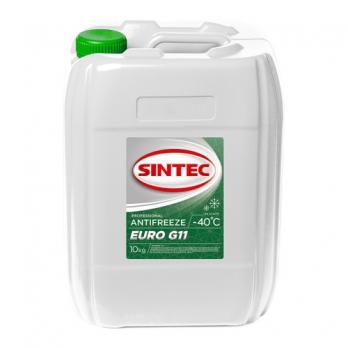 Антифриз Sintec зеленый (10л)