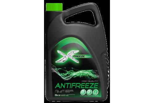 Антифриз X-Freeze зеленый (3л)