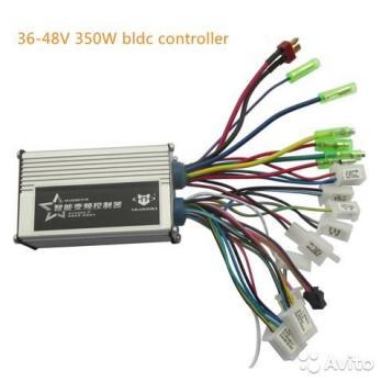 Контроллер HUAWEI 36/48В 250/350Вт 13А без дисплея (вело)