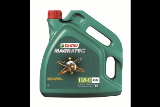 Масло Castrol Magnatec 10W40 А3/B4 моторное, полусинтетическое (4л)