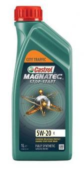 Масло Castrol Magnatec 5W20 Stop-Start моторное, синтетическое (1л)