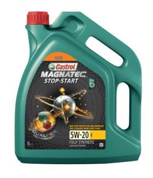 Масло Castrol Magnatec 5W20 Stop-Start моторное, синтетическое (5л)