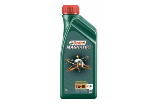 Масло Castrol Magnatec 5W40 A3/B4 моторное, синтетическое (1л)