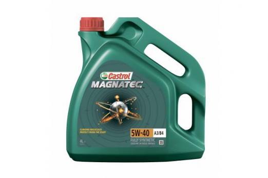 Масло Castrol Magnatec 5W40 A3/B4 моторное, синтетическое (4л)