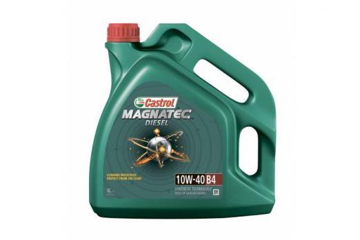 Масло Castrol Magnatec Diesel 10W40 B4 моторное полусинтетическое 4л