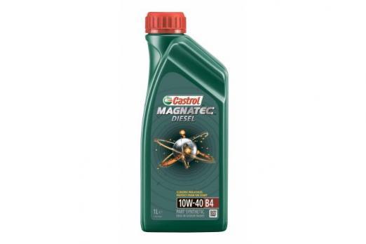 Масло Castrol Magnatec Diesel 10W40 B4 моторное, полусинтетическое (1л) CASTROL