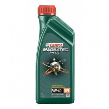 Масло Castrol Magnatec Diesel 5W40 DPF моторное, синтетическое (1л)