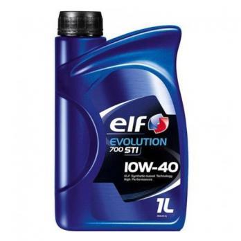Масло ELF EVOLUTION 700 STI 10W40 моторное, полусинтетическое (1л)