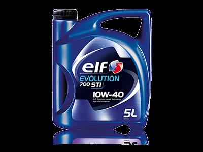 Масло ELF EVOLUTION 700 STI 10W40 моторное, полусинтетическое (4л) 201552