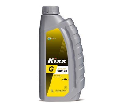 Масло Kixx 10W40 G SL/CF моторное, полусинтетическое (1л)