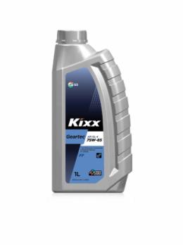 Масло Kixx GEARTEC 75W85 GL-4 трансмиссионное, синтетическое (1л)