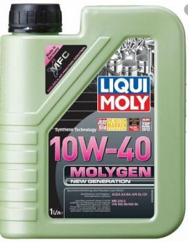 Масло Liqui Moly 10W40 Molygen New Generation моторное, синтетическое  (1л) 9059