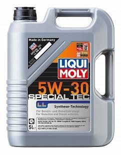 Масло Liqui Moly 5W30 Leichtl. Special LL  моторное синтетическое (5л) 1193