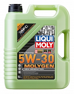 Масло Liqui Moly 5W30 Molygen New Generation  моторное, синтетическое (5л) 9043