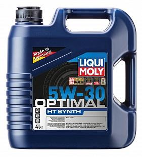 Масло Liqui Moly 5W30 Optimal HT Synth A3/B4 моторное,синтетическое (4л) 39001