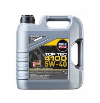 Масло Liqui Moly 5W40 Top Tec 4100 моторное, синтетическое (4л) 7547