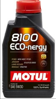 Масло Motul 8100 Eco-nergy 5W30 моторное, синтетическое (1л)
