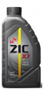 Масло ZIC 5W30 LS моторное, синтетическое (1л) ZIC