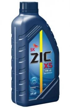 Масло ZIC X5 10W40 моторное, полусинтетическое (1л)