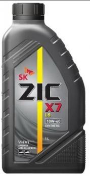 Масло ZIC X7 LS 10W40  моторное, полусинтетическое (1л)