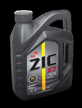 Масло ZIC X7 SN PLUS 5W-30 моторное, синтетическое (4л)