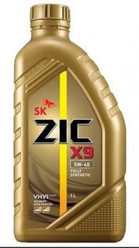 Масло ZIC X9 5W40 SN моторное, синтетическое (1л)