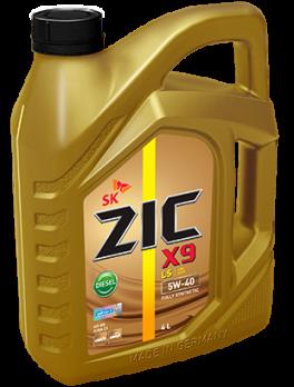 Масло моторное ZIC X9 LS Diesel 5W40 синтетическое (4л) 162904