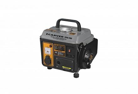 Генератор бензиновый CARVER PPG-  950 (0,7/0,8кВт, 220В, бак 4,2л)