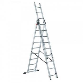 Лестница трёхсекционная LWI 3х8