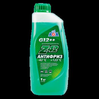 Антифриз AGA Z-42 готовый -42C зеленый 1 кг AGA048Z