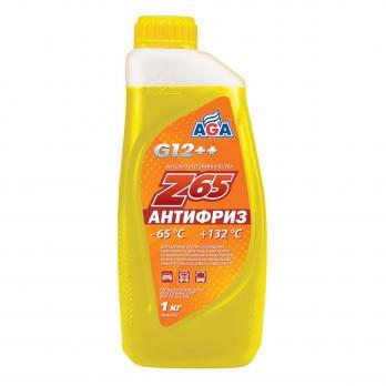 Антифриз AGA Z-65 готовый -65C желтый 1 кг AGA042Z