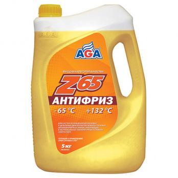 Антифриз AGA Z-65 желтый (5кг)043Z AGA AGA043Z