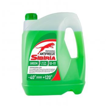 Антифриз SIBIRIA G11 зеленый (5кг)